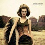Vogue Germany marzec 2009 - Toni Garrn