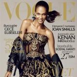 Vogue Turkey grudzień 2012 - Joan Smalls