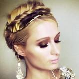 Warkocz Paris Hilton