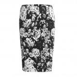 wąska spódnica Lindex w kwiaty - kolekcja damska