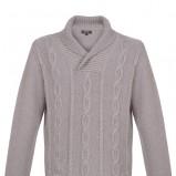 wełniany sweter Top Secret w kolorze granatowym
