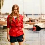wiosenna kurtka Tatuum w kolorze czerwonym - moda na wiosnę i lato 2013