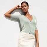 wiosenna spódniczka H&M w kolorze ecru - moda na wiosnę 2013