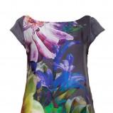 wiosenna sukienka Solar w kwiaty - moda damska 2013