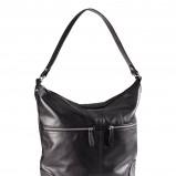 worek - torba H&M w kolorze czarnym - najmodniejsze torebki
