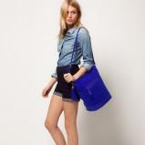 worek - torebka Asos w kolorze niebieskim