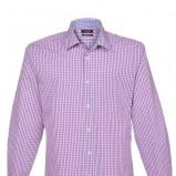 wrzosowa koszula Top Secret w kratkę - trendy wiosna-lato