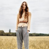 wygodne spodnie Chloe w kolorze szarym - kolekcja na wiosnę i lato 2013