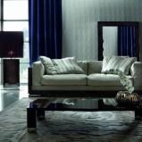 Wyjątkowa kanapa z miękkim beżowym obiciem -Patt Mebel 2013
