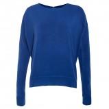 Wyjątkowy niebieski sweter New Look gładki trendy na jesień i zimę 2012/2013