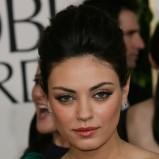 wyraźnie podkreślone oko - Mila Kunis