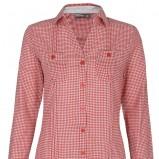 z długam rękawem koszula Troll w kratkę w kolorze czerwonym - jesień 2012