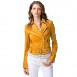zamszowa katana Tommy Hilfiger w kolorze żółtym  - trendy na wiosnę 2013