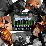 Zespół Rapsodia. Na żywo. 7 osób.
