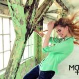 zielona koszula Moodo - jesień 2013