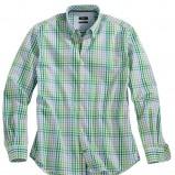 zielona koszula s.Oliver w kratkę - jesień/zima 2010