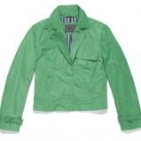 zielona kurtka krótka - wiosna/lato 2012
