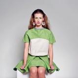 zielona spódnica est by eS. - moda 2013