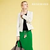 zielona spódnica Reserved długa - trendy wiosna-lato