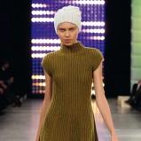 zielona sukienka Benetton - kolekcja jesienno-zimowa