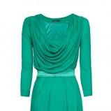 zielona sukienka Mango - wiosna/lato 2012