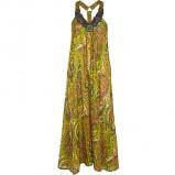 zielona sukienka River Island długa - moda 2011