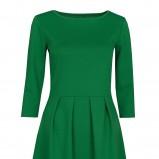 zielona sukienka Troll - jesień 2012