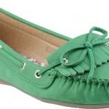 zielone mokasyny CCC - obuwie na wiosnę 2013
