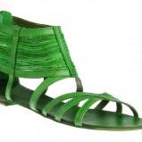 zielone sandały Gino Rossi - sezon letni