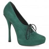 zielone szpilki Kazar - moda 2012/13