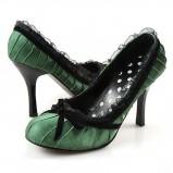 zielone szpilki Wild Diva - wieczorowe obuwie