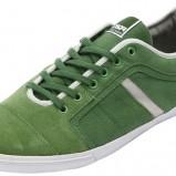 zielone tenisówki Pull and Bear - kolekcja wiosenno/letnia