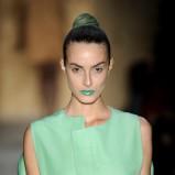 zielone usta