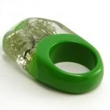 zielony pierścionek Sylwia Całus - jesień/zima 2011/2012