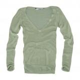 zielony sweter Pull and Bear - sezon wiosenno-letni