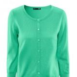 zielony sweterek H&M - trendy na wiosnę