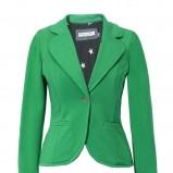 zielony żakiet Van Graaf - trendy wiosenne