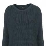 zimowy sweter Topshop w kolorze butelkowej zieleni - moda na jesień-zimę 2012/2013