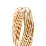 złota bransoletka Mango - 2012