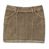 złota spódnica Mohito mini - zima 2011/2012