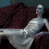 złota sukienka Bialcon - z kolekcji jesień/zima 2013/2014
