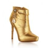 złote botki H&M  Anna Dello Russo