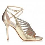 złote buty ślubne Jimmy Choo