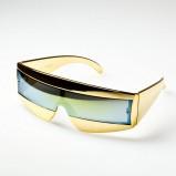 złote okulary przeciwsłoneczne - wiosna/lato 2012