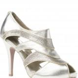 złote sandałki New Look - zima 2011/2012