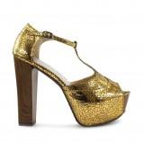 złote sandały DeeZee - zima 2011/2012