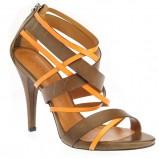 złote sandały Gino Rossi - kolekcja na lato