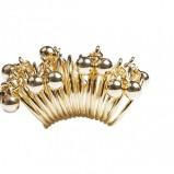 złoty pierścionek Glitter - wiosna-lato 2012