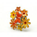 złoty pierścionek Me'amoore z kwiatami - wiosna/lato 2011