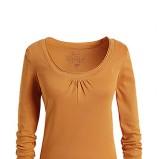 Zmysłowa złota bluzka ESPRIT  moda jesień zima 2012/ 2013